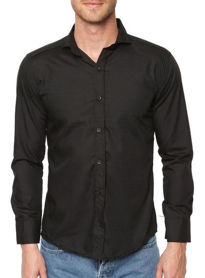 Camisas Entalladas Hombre Oferta!! Todos Los Talles