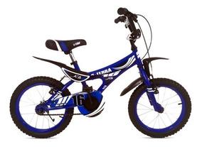 Bicicleta Cross X-terra Rodado 16 Para Niño Mayores 4 Años
