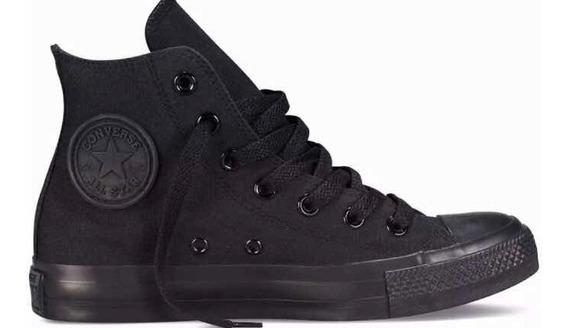 Converse All Star, Talle 38 Negras! No Nike, adidas, Reebok.