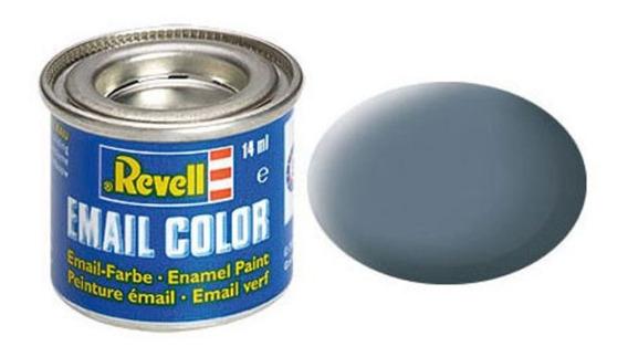 Tinta Enamel Greyish Blue Ral 7031 Fosco 14ml Revell 32179