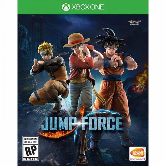 Jump Force Xbox One Mídia Física Novo Lacrado Pronta Entrega