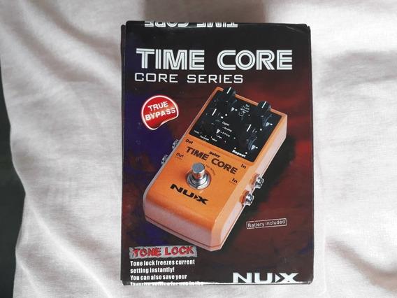 Caixa Pedal Nux Time Core (sem O Pedal) Com Tds As Tags
