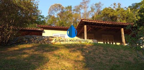 Imagem 1 de 15 de Casa Térrea, Em Fase De Acabamento Em Condomínio Privilegiado - Venda - 3484