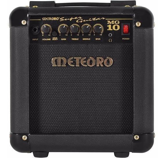 Combo Cubo Amplificador Guitarra Meteoro Mg10 10w Preto