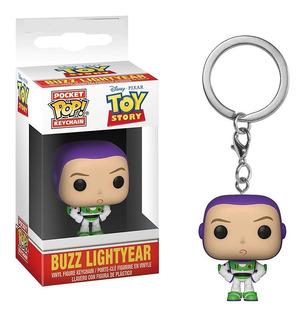 Funko Pocket Pop Llavero De Buzz Lightyear De Toy Story Nuev