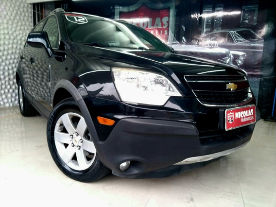 Chevrolet Captiva Sport 2.4 Automática Preta - 2012