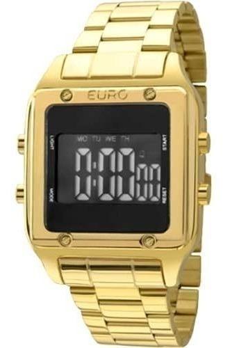 Relógio Euro Feminino Fashion Fit Eug2510aa/4p Digital