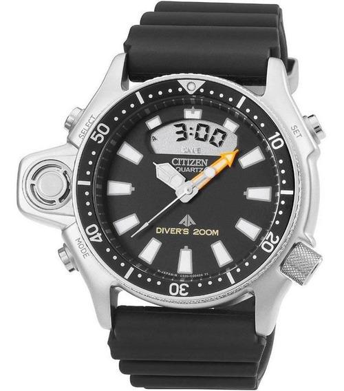 Relógio Citizen Masculino Aqualand Jp2000-08e Tz10137t Prata