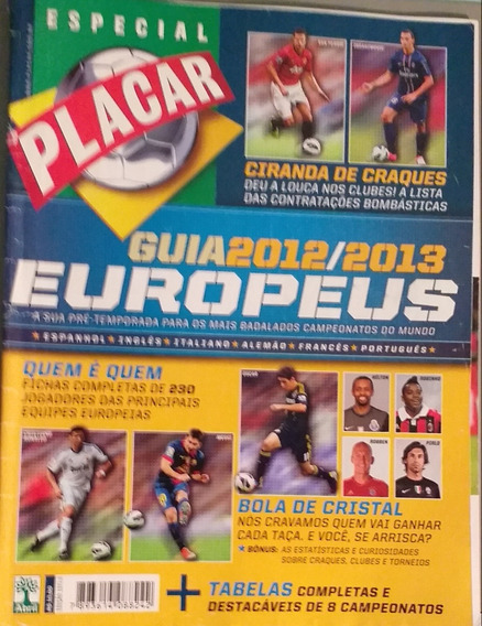 Revista Guia 2012/2013 Europeus. Placar