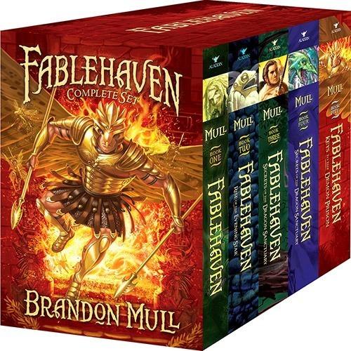 Fablehaven - Brandon Mull (5 Livros) Coleção Completa