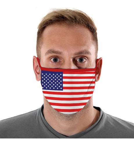 Mascara De Protecao Estados Unidos Adulto