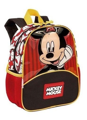 Mochila Infantil Mickey Mouse 19y Sestini Pequena Costas