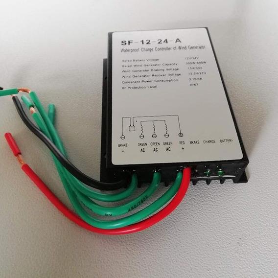 Controlador De Carga Eólico 12v 24v 300w 600w 30a