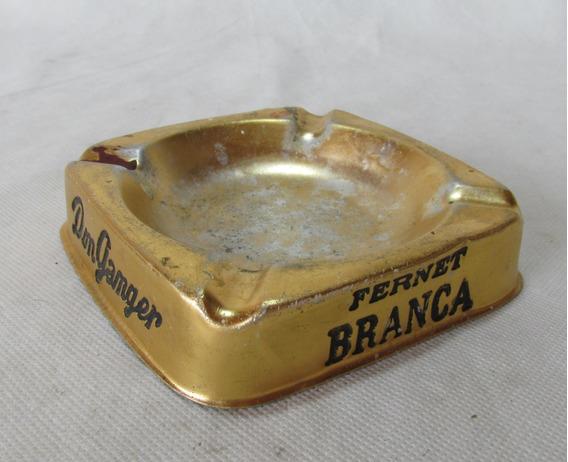 Antiguo Cenicero De Bar Publicidades Fernet Branca Maclin #l
