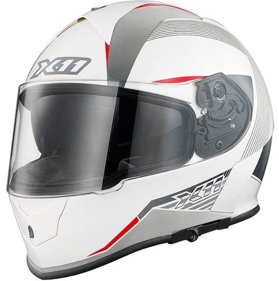 Capacete X11 Revo - 60 - Branco