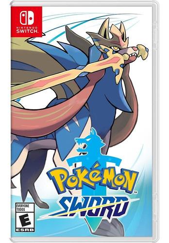 Pokemon Sword Midia Fisica Novo Original Lacrado Switch