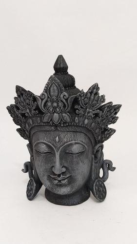 Buda Indiano Em Resina 21 Cm