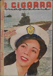 1943 Revista A Cigarra Magazine Nº 108 Editora O Cruzeiro