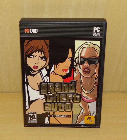Grand Theft Auto The Trilogy /gta 3 Vice City San Andreas Pc
