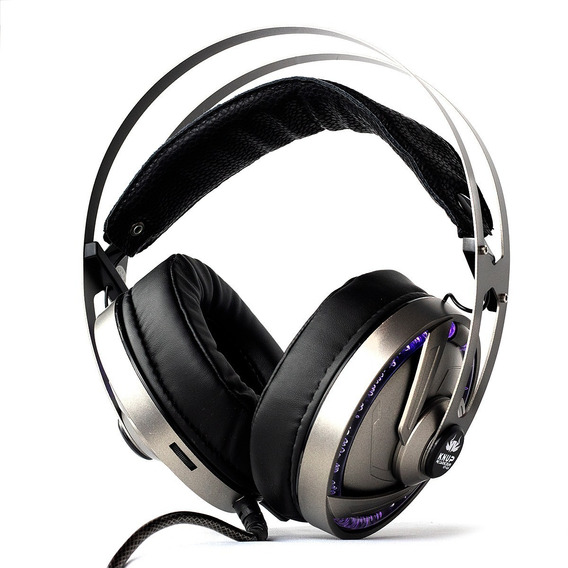 Fone Headset Gamer 7.1 Pc Knup Kp434 P2 Usb Led Microfone