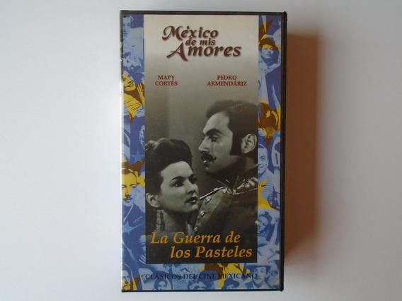 La Guerra De Los Pasteles Vhs Distrimax Televisa 2001