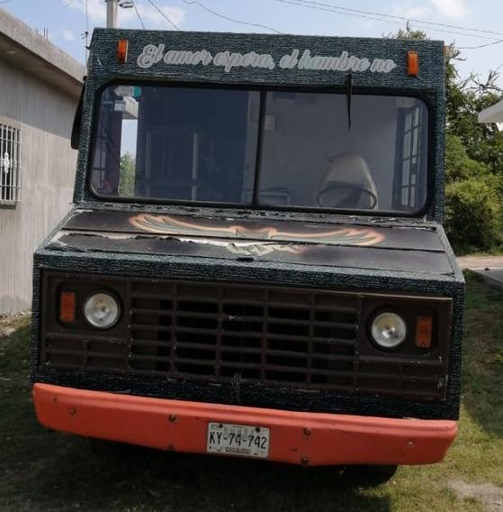 Chevrolet Vanet Foodtruck Ideal Para Tu Proyecto 1982