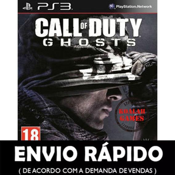 Call Of Duty Ghosts - Ps3 Midia Digital Psn