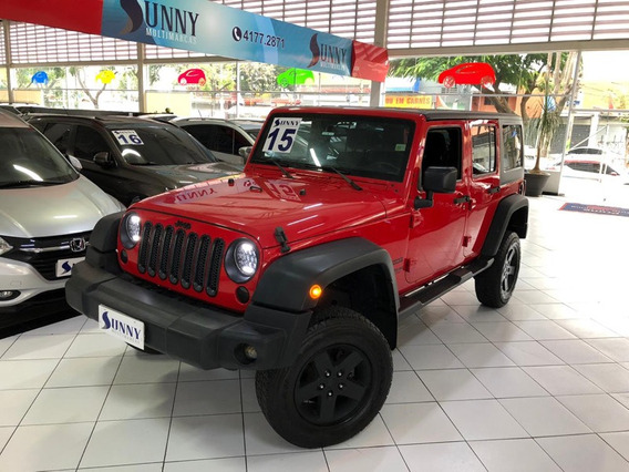 Jeep Wrangler 3.6 V6 Unlimited Sport 4x4 2015