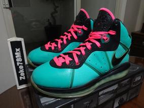Nike Lebron 8 South Beach 8.5 28.5 10.5 Jordan Kobe Zeke78mx