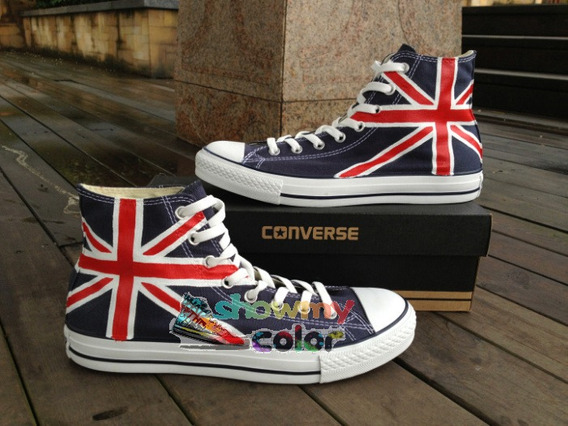 converse bandera inglesa