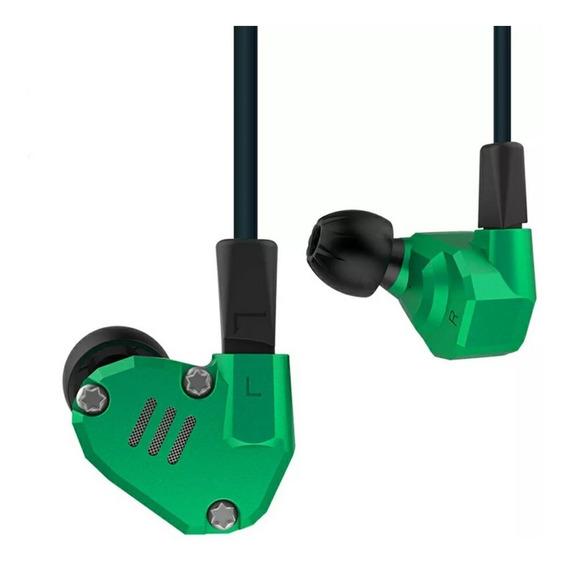 Kz Zs6 Sem Microfone + Case Retorno De Palco Monitor Ponto