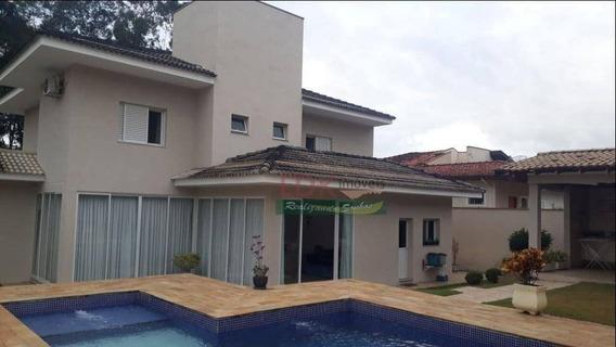 Sobrado Com 3 Dormitórios À Venda, 304 M² Por R$ 2.120.000,00 - Parque Lago Azul - Pindamonhangaba/sp - So1176