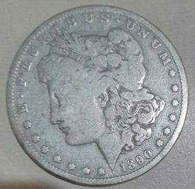 Moeda One Dollar 1890 Raridade