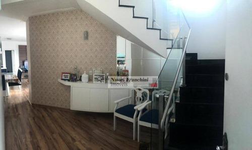 Cobertura Com 3 Dormitórios, 2 Vagas À Venda, 180 M² Por R$ 1.170.000 - Tatuapé - São Paulo/sp - Co0045