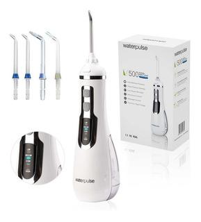 Waterpulse Irrigador Duchador Bucal Dental 3 Niveles Presión + 4 Picos + Implantes, Ortodoncia, Brackets