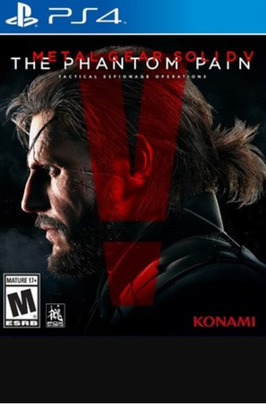 Metal Gear Solid 5 The Phantom Pain Ps4 Legendas Pt/br