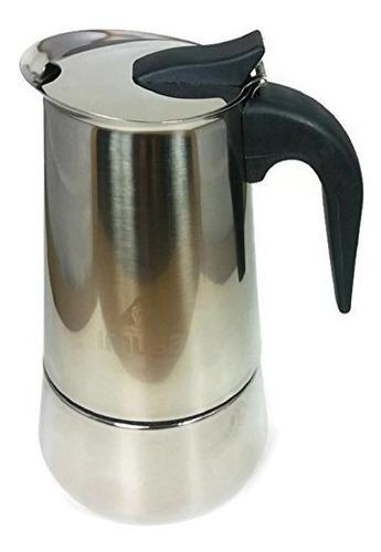 Cafetera Espresso Imusa De Acero Inoxidable (2 Tazas)