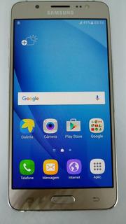 Samsung Galaxy J5 Metal J510mn/ds Dourado 16gb Vitrine Burn-in