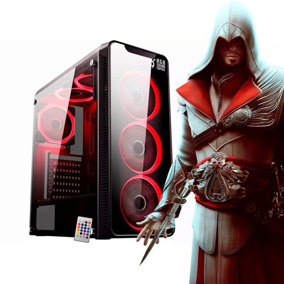 Pc Gamer Ryzen 7 2700 16gb Hd 1tb Ssd 480gb Rx 580 8gb Wifi