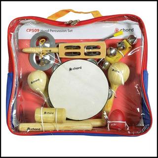 Set Percusion Niño + Bolso Banda Ritmica