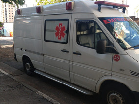 Ambulância 313 Teto Alto Alongada