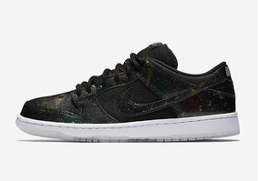 Tênis Nike Sb Dunk Low Trs Qs - Space Jam Galaxy