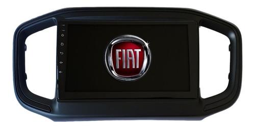 Central Multimídia 9 Polegadas Fiat Strada 2020 A 2021