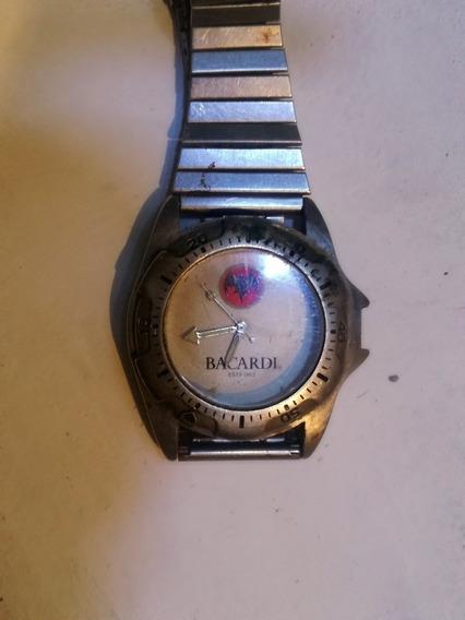 Reloj Casio De Colección Bacardí, Escaso. Para Hombre