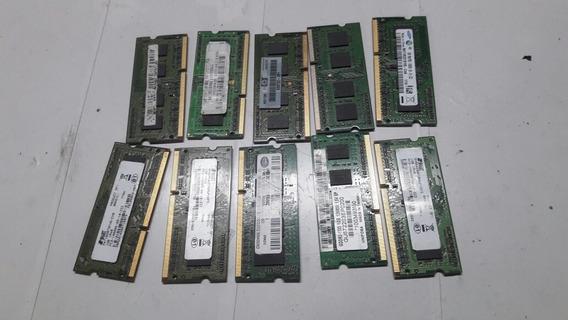 Memoria Ddr3 1gb 10600s Para Notebook $20 Reais Cada 1