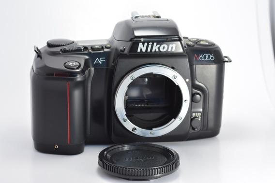 Câmera Analógica Nikon Af N6006 Filme 35mm Vintage