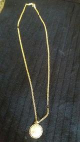 Cordão De Ouro Com Pingente Original