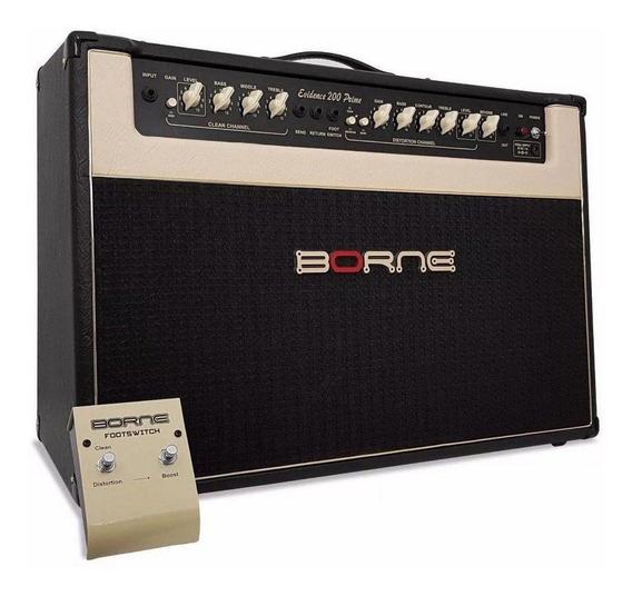 Amplificador Borne Evidence 200 Prime 200W preto 110V/220V