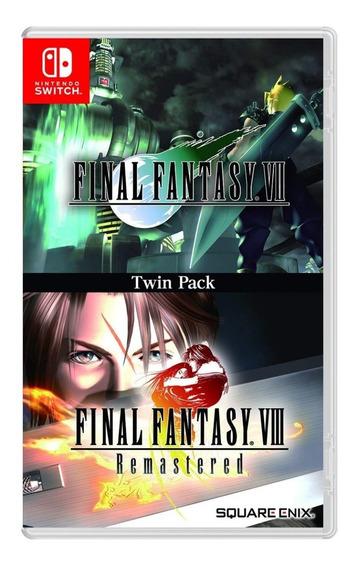 Final Fantasy Vii & Final Fantasy Viii - Mídia Física - Novo