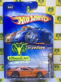 Bx307 Hot Wheels 2005 First 1971 Dodge Charger Torpedoes